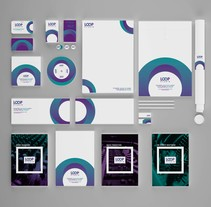 LOOP SOUND STUDIO. A Br, ing, Identit, Editorial Design, and Graphic Design project by Manuel Serrano Cordero         - 29.06.2014