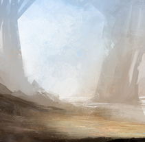 Environment Sketches. A Design, Illustration, and Set Design project by David  Iglesias Martínez - 15-07-2014