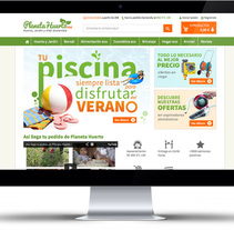 Banners para planetahuerto.es. A Design, and Graphic Design project by Maialen Echaniz Olaizola - 23-07-2014