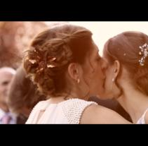 Trailer Boda Javi y mar. Un proyecto de Cine, vídeo y televisión de Lara Ruiz Cerezo - 13-06-2014