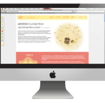 Portfolio web. A Design, Illustration, Graphic Design, and Web Design project by lidia creus         - 29.07.2014