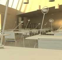 School Lighting. A 3D, and Animation project by Iván Soler Rebolo         - 04.08.2014