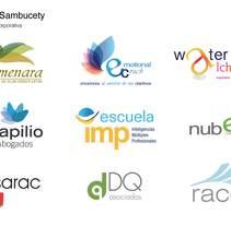Ejemplos de logotipos. Um projeto de Br e ing e Identidade de Belen Sambucety         - 11.08.2014