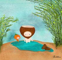 Niño castaña. Un proyecto de Ilustración de Ana  - 17-08-2014