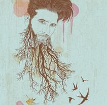 Nuevo proyecto. Um projeto de Ilustração de Toxic Retro         - 18.08.2014