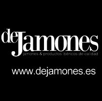 deJamones tienda de jamones ibéricos y productos gourmet. www.dejamones.es Creación de la web y la identidad corporativa. A Design, Graphic Design, Web Design, and Web Development project by Pepe Belda Parres         - 24.03.2014