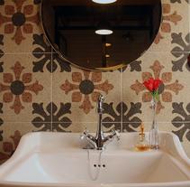 El baño de Víctor. Un proyecto de Consultoría creativa, Arquitectura interior y Diseño de interiores de Teresa Bermejo Villaverde         - 09.08.2014