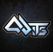 Logo Qbits. Um projeto de Br e ing e Identidade de David Ramos García - 18-01-2012
