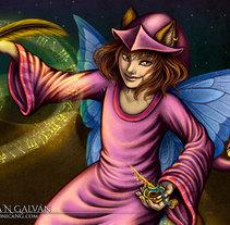 Enchanted Visions IV. Un proyecto de Ilustración y Diseño de personajes de Mónica N. Galván         - 23.05.2014