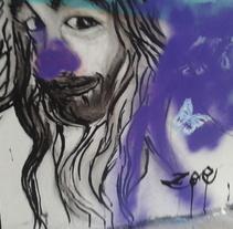 GO STREET. Um projeto de Pintura de eva martínez         - 05.09.2014