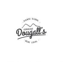Cerveza Dougall's . A Br, ing, Identit, Graphic Design, and Product Design project by TheTrendingMarket         - 07.09.2014