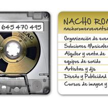 Tarjetas NACHO ROMERO. A Br, ing, Identit, Design, and Graphic Design project by Marta Serrano Sánchez - Sep 10 2014 12:00 AM