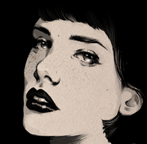 Fade to black. A Illustration project by Judith González         - 11.09.2014
