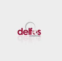 Delfos Consultores. Um projeto de UI / UX, Direção de arte, Web design e Desenvolvimento Web de Pablo Núñez Argudo         - 04.05.2013