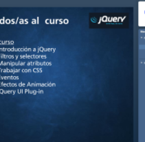 Desarrollo curso jQuery online. A Web Development, Education, and UI / UX project by Formadores IT  - Sep 15 2014 12:00 AM