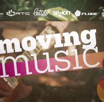 Promo Vídeo Moving Music. Um projeto de Publicidade, Cinema, Vídeo e TV e Eventos de Latido Creativo         - 15.02.2013