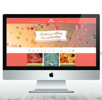 Decorä Website. Un proyecto de Br, ing e Identidad, Diseño gráfico y Diseño Web de TheTrendingMarket - 17-09-2014