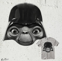ET Vader. A Graphic Design project by Alejandro  - Sep 18 2014 12:00 AM