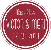 Branding Boda Victor&Meri - 2014. A Design, Br, ing, Identit, Events, T, and pograph project by Sara Pau         - 16.05.2014
