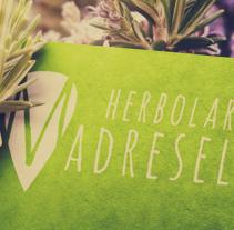BRANDING HERBOLARIO MADRELVA. A Br, ing&Identit project by Nayra Rodríguez Perdomo         - 21.09.2014