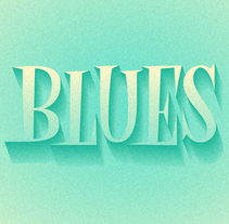 Blues. A Graphic Design, T, and pograph project by Bogidar Mascareñas Vizcaíno         - 21.09.2014
