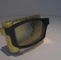 broche gafa. Um projeto de Artesanato e Design de joias de Abel Belmonte LLedó         - 24.09.2014