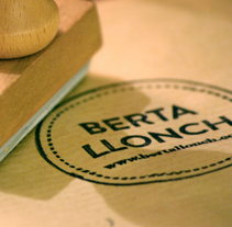 Berta Llonch. Um projeto de Br e ing e Identidade de Porelamordedios - 21-09-2014