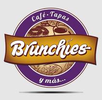 Logo Brunchies. A Graphic Design project by Alberto Vázquez         - 30.09.2014