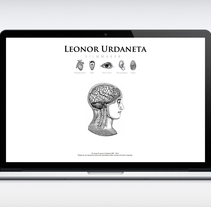 WEB LEONOR-URDANETA. A Graphic Design, and Web Design project by odi bazó - Oct 01 2014 12:00 AM