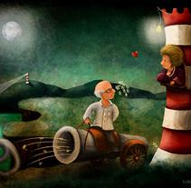 Happy birthday!!. Um projeto de Ilustração de Nadia Engelhard         - 30.09.2014
