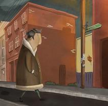 Vasco. Un proyecto de Diseño, Ilustración, Animación, Dirección de arte y Bellas Artes de Natasha  Luis De La Cueva          - 05.10.2014