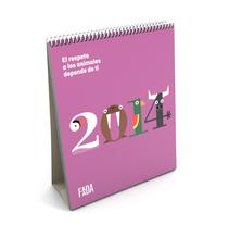 Calendario FAADA. Un proyecto de Diseño gráfico de The Bold  Strategic Design Studio  - 06-10-2014