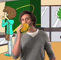 Por ser de Movistar. A Animation, and Art Direction project by David Escribano Albéniz         - 31.10.2013