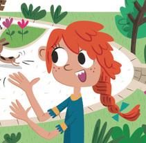Ilustraciones para LIBRO DE TEXTO 8-9 años. A Illustration project by Nuria  - 08-06-2014