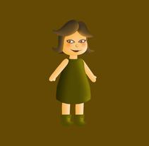 Mi Proyecto del curso Construye un amigo: del lápiz al movimiento. A Illustration, and Animation project by Elvira Soriano Chamorro - 10-10-2014