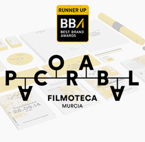 Filmoteca Paco Rabal * Best Brands Awards. A Film, Video, TV, Br, ing, Identit, and Graphic Design project by Blonde Poulain         - 11.10.2014