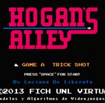 Hogan's Alley para Pc. A Game Design project by Luciano De Liberato         - 12.10.2014