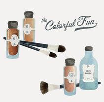 The Colorful Fun. Un proyecto de Diseño e Ilustración de Ana Rey - 13-10-2014