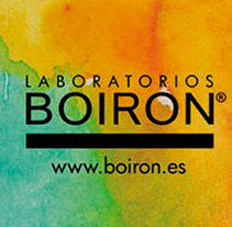 Flyer Boiron. A Graphic Design, and Painting project by Anna Carbonell Sariola         - 18.10.2014