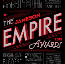 Empire Awards . A Design, Editorial Design, T, and pograph project by Martina Flor         - 19.10.2014