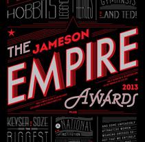 Empire Awards . Un proyecto de Diseño, Diseño editorial y Tipografía de Martina Flor         - 19.10.2014