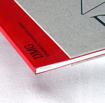 Catálogo de servicios de DMG Encuadernaciones . A Graphic Design, and Photograph project by César Calavera Opi - Oct 22 2014 12:00 AM