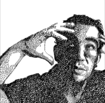 Autoretrato . Un proyecto de Ilustración de César Calavera Opi - Miércoles, 22 de octubre de 2014 00:00:00 +0200