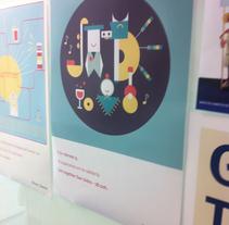 Posters para Pérez-Llorca. Un proyecto de Diseño gráfico de César Martín Ibáñez  - 28-10-2014