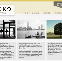 Web Design Zisko Services. A Graphic Design, and Web Design project by joannabv - Oct 30 2012 12:00 AM