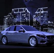 Videomapping Mercedes. Um projeto de Motion Graphics, Instalações, Cinema, Vídeo e TV e Animação de Sergi Esgleas         - 29.10.2014
