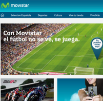 ViveMovistar. A Br, ing, Identit, and Web Development project by Fernando Morales Roselló          - 03.11.2014