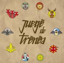 Juego de tronos. Un proyecto de Ilustración y Diseño gráfico de Sergio Puente Aragoneses - 05-11-2014