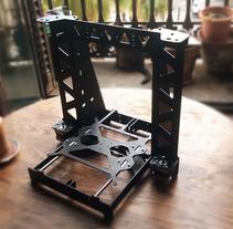 Construïnt una Impressora 3d. Un proyecto de 3D de Isaac Peñarroya         - 29.08.2015