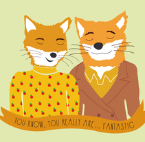 Ilustración Fantastic Mr Fox. A Graphic Design project by Lucía Tamayo         - 04.12.2014